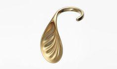 ross lovegrove 3D prints 18k gold rings for louisa guinness gallery