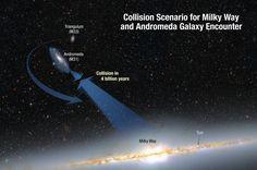 Astrónomos de la NASA consiguieron dar forma a uno de los eventos más colosales que nuestra galaxia experimentará. Se trata de una giga...