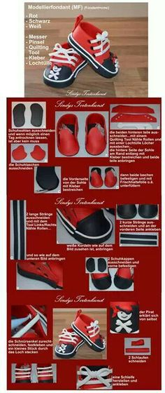How to make fondant shoes