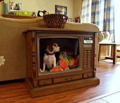 This cracks me up! 25 Cool Indoor Dog Houses | Home Design And Interior
