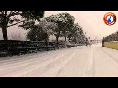 Nevicata straordinaria sul Lago di Garda