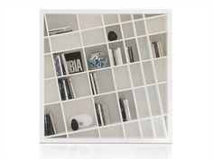 Freestanding lacquered bookcase GIANO K Home Collection Collection by ESTEL   design Monica Bernasconi, Norberto Delfinetti