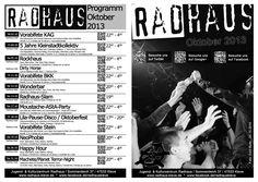 Programmheft Oktober 2013