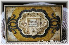 Beautiful friendship card by Tina McDonald