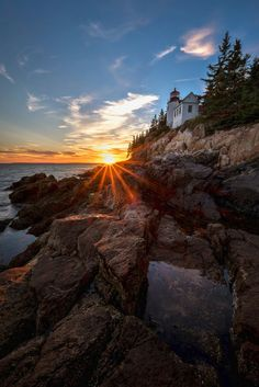 photo-tips-blog:Bass Harbor Lighthouse, Acadia National Park by Robbie Shade - via Loaded Landscapes