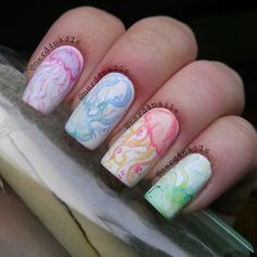 Check out some summer nail art, summer nails ideas, summer nail polish ideas, nail style for summer and some summer nail designs. Fish Nails, Fish Nail Art, Water Color Nails, Animal Nail Art, Beach Nails, Pastel Nails, Short Nails, Manicure And Pedicure, Toe Nails