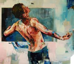 View Andrew Salgado's Artwork on Saatchi Art. Find art for sale at great prices from artists including Paintings, Photography, Sculpture, and Prints by Top Emerging Artists like Andrew Salgado. Art Of Man, Portraits, Portrait Art, Gay Art, Figure Painting, Artist At Work, Love Art, Painting Inspiration, Les Oeuvres