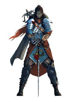 Game Character Design, Fantasy Character Design, Character Drawing, Character Concept, Character Inspiration, Fantasy Inspiration, Concept Art, Fantasy Male, Fantasy Warrior