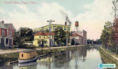 Canal, Piqua, Ohio