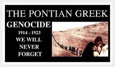 greek genocide | Pontian Genocide Remembrance Day