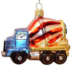 ready mix truck ornament