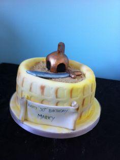 Spartacus inspired cake