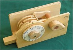 How to Make a Wood Combination Lock nice wooden projects