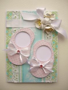 card or package top...love this could use a foot print as a tag...