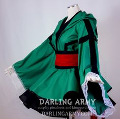 Deku My Hero Academia Hooded Cosplay Kimono Dress Casual Cosplay, Cosplay Dress, Cosplay Outfits, Anime Outfits, Fashion Outfits, My Hero Academia Merchandise, Anime Inspired Outfits, Anime Dress, Japanese Outfits