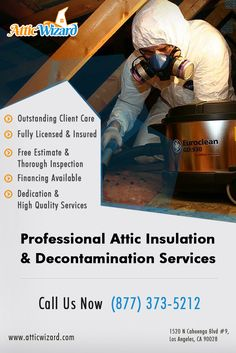 Attic Wizard - Hidden Hills CA Insulation Removal and Replacement, Attic Cleaning, Insulation Replacement. radiant barrier and attic fan installation pro.