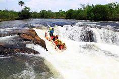 Jaciara, no Mato Grosso, é destino para quem curte esportes radicais