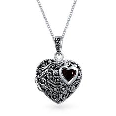 Bling Jewelry Heart Line Pendant ($40) ❤ liked on Polyvore featuring jewelry, necklaces, grey, necklaces pendants, pendant-necklaces, pendants & necklaces, heart locket, heart shaped pendant necklace, locket jewelry and locket pendant necklace