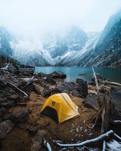 Camping out in Alaska in the cold weather. Alaska, Get Outdoors, The Great Outdoors, Outdoor Life, Outdoor Camping, Indoor Outdoor, Adventure Time, Adventure Travel, Fitz Huxley