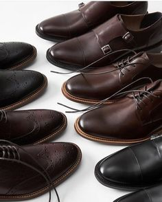 Obsessed with BR's men's shoes. Too many to choose from! #favoriteshoes #itsbanana #regram #shoes #menswear #toomanyshoes #decisions