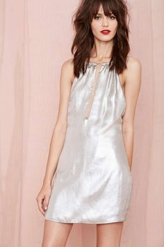 Nasty Gal In A Flash Halter Dress | Shop Dresses at Nasty Gal