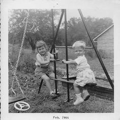 Michael Davis and Linda Pazics, Gilpin Twp., PA, February 1955