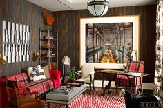 ELLE DECOR's Designer Visions Showhouse - Design by Alessandra Branca - ELLE DECOR