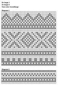 Bilderesultater for diagram mariusmønster Intarsia Patterns, Fair Isle Knitting Patterns, Knitting Charts, Tapestry Crochet, Knit Crochet, Fair Isle Chart, Hand Warmers, Knitted Hats, Diy And Crafts