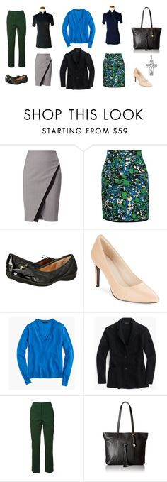 """Clergy Capsule Wardrobe"" by rockthatcollar on Polyvore featuring WtR London, M Missoni, White Mountain, Cole Haan, J.Crew, Tory Burch and Lucky Brand"