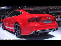 2014 Audi RS7 Sportback in Detail