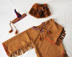 Girls Native American Indian Costume Pocahontas by AtelierSpatz #kidsatheart