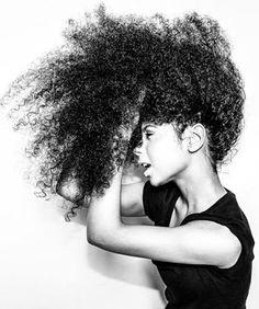 @ biracial  mixed hair