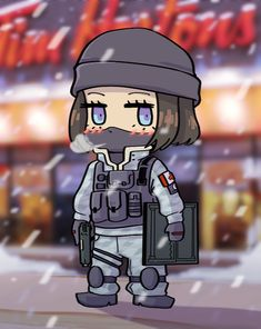 Frost Chibi by Strictly.Mecha.