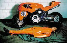 Yamaha XV920 FC leRoy Bott Racer 1994 #Yamaha #XV920 #FCLeRoy #Bott #Mercenary #MercenaryGarage