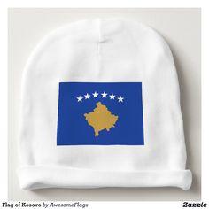 Flag of Kosovo Baby Beanie