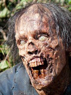 AMC`s The Walking Dead Season 4 greenhouse Walker