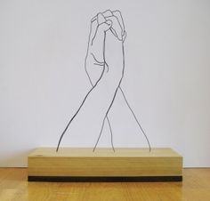 Gavin Worth. Wire and wood.