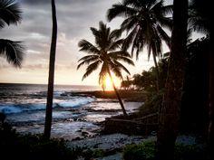 Big Island of Hawaii (sunset)
