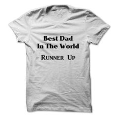 Best Dad in the World Runner Up - #tshirt display #mens sweater. FASTER => https://www.sunfrog.com/Funny/Best-Dad-in-the-World-Runner-Up-50434184-Guys.html?68278
