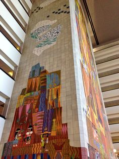 Mary Blair mural in the Grand Canyon Concourse at the Contemporary Resort in @Colleen Egan Disney World #classic pic.twitter.com/Td6Yo7rFT4