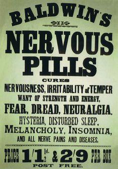 Nervous pills~ I'll need fifty bottles, please....: )