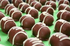 Oreo Football Cookies; sweet treat for the Playoffs or a football game / picnic