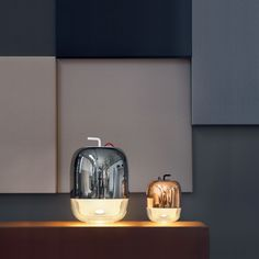 Gong, Table Lamp By Prandina is a lamp for diffused lighting designed by Sergio Prandina in Black Metal, Lighting Design, Diffuser, Table Lamp, Glass, Home Decor, Light Fixtures, Light Design, Lamp Table