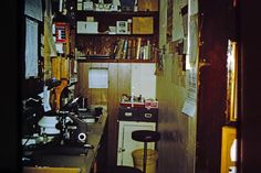 Old Hyden Hospital laboratory, FNS, 1974-75, photo by Sherrie Rice Smith