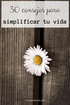 30 consejos para simplificar tu vida