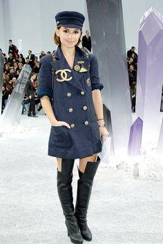 Frontrow | Chanel Otoño Invierno 2012/2013 París | Vogue