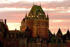 Chateau Frontenac, Quebec VisitBonjourQuebec.comand follow@TourismQuebecon Twitter for more information.