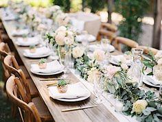 Chic Romance-Filled Outdoor Wedding at Healdsburg Country Gardens - MODwedding