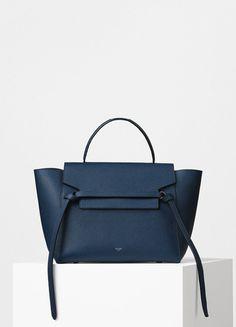 690d5a279101 Mini Belt bag in Grained Calfskin - Céline Celine Belt Bag Mini