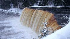 Tahquamenon Falls, Michigan  via Orbo